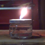 How to make an emergency survival cooking oil candle