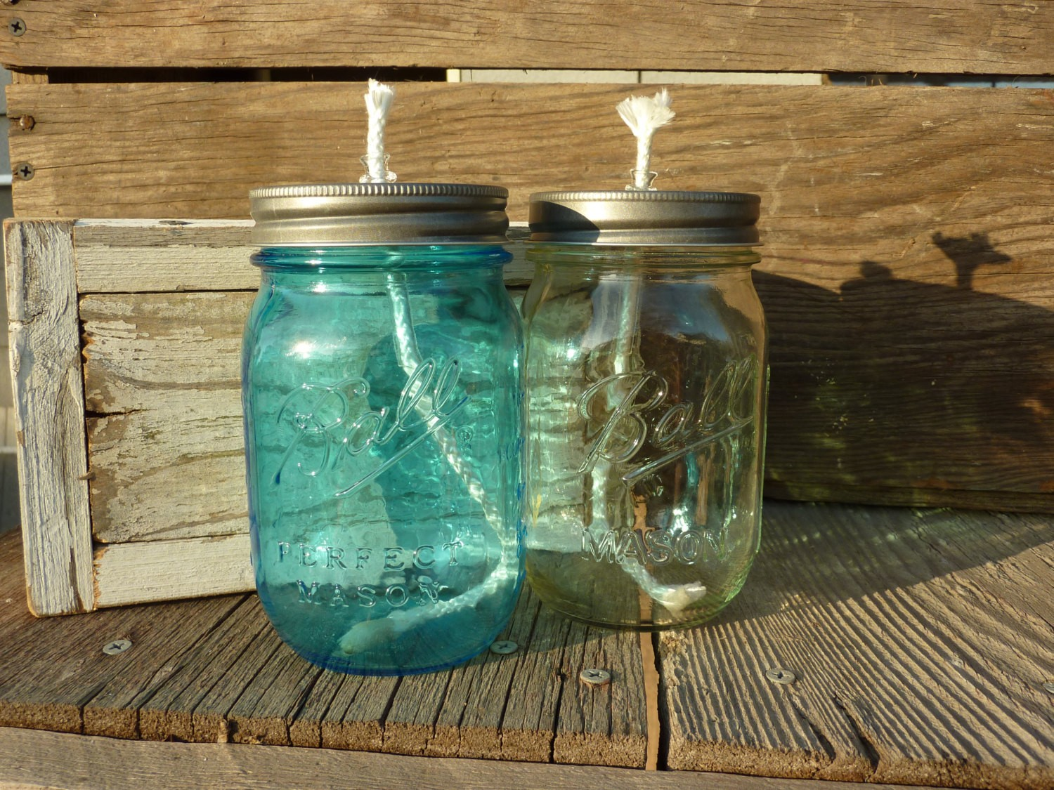 2014 diy outdoor lightings - set of 3 mason jar oil lamps buy in bulk and-f51334