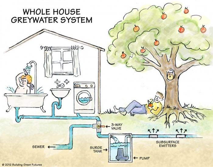 Whole House Greywater System X
