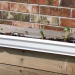How to Make a Vertical Gutter Garden