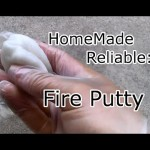 Home made Survival Fire Putty