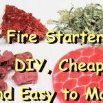 Fire Starters, DIY, Cheap, and Easy to Make