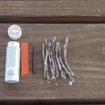 Diy pocket size fire starter kit