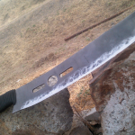 Making a Lawnmower Blade Parang Machete