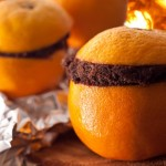 Delicious! How to Make a Campfire Cake from an Orange