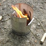 How to Make a PORTABLE Camping Stove From a Can