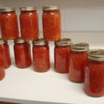 Canning Pasta Sauce With and Without Meats