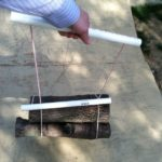 How to Make a Simple Wood Carrier Out of PVC Pipe