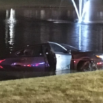 Amazing Rescue of Motorist After Crashing into Frigid Retention Pond